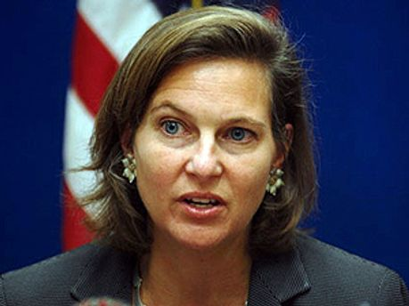 Прес-секретар держдепартаменту США Вікторія Нуланд
