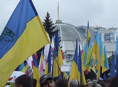 Правоохранители ожидают массовые акции возле здания Верховной Рады