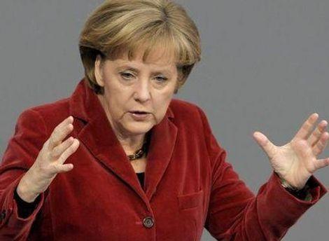 Ангела Меркель закликає всю Європу долучитись до вирішення проблем