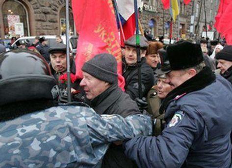 Під час маршу зав'язалась бійка