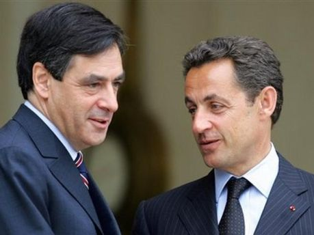 Николя Саркози и Франсуа Фийон