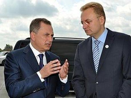 Борис Колесніков і Андрій Садовий