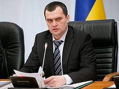 Министр внутренних дел Украины Виталий Захарченко