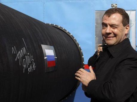 Дмитро Медведєв запустив