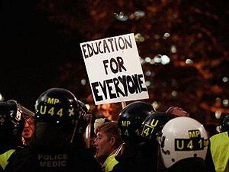 Студенти проти підвищення вартості навчання