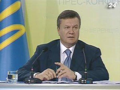 Янукович зустріне дві іноземні делегації