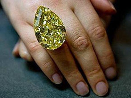 Знайдений у ПАР жовтий діамант