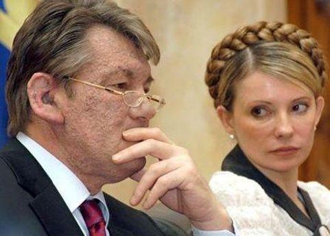 Ющенко сказал, что не имел влияния на Тимошенко