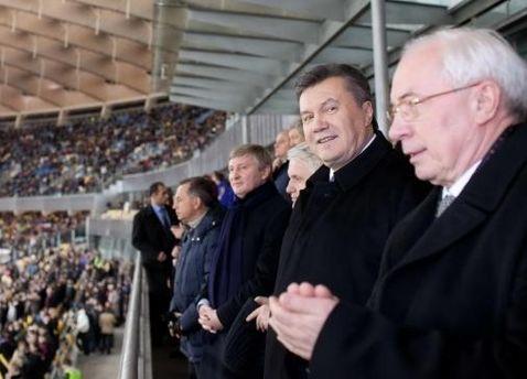 Перші особи держави на матчі збірних України та Німеччини