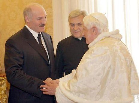 Лукашенко встречался с Папой в 2009 году
