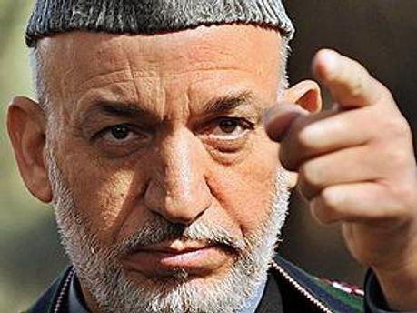 Президент Афганістану Хамід Карзай