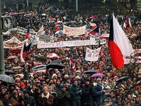В Праге протестуют