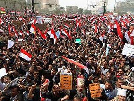 Єгиптяни хочуть цивільну владу