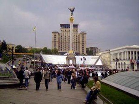 На Майдане Незалежности будут гулять просто так