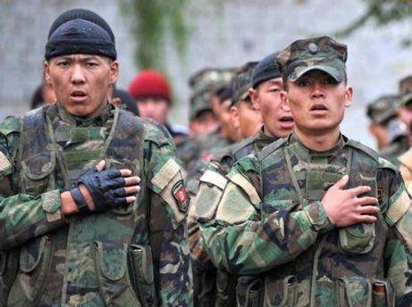 Киргизские военные