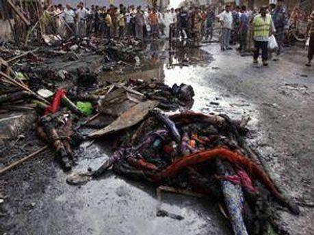 Терористи підірвали мотоцикли на місцевому ринку