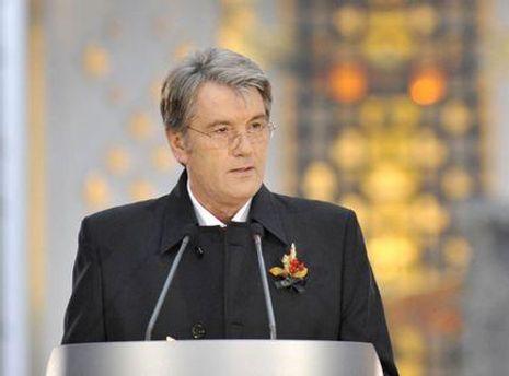 Виктор Ющенко поблагодарил всех тех, кто помнит о жертвах трагедии