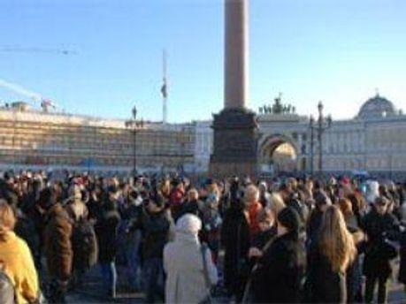 В Петербурге протесты