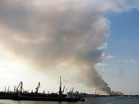 Центр Одессы теперь без дыма