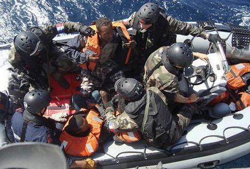 Французскому спецназу удалось обезвредить сомалийских пиратов