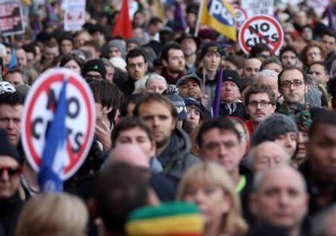 У страйку взяли участь близько двох мільйонів осіб