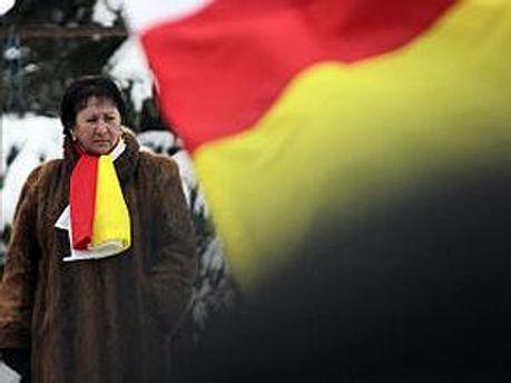 Кандидат у президенти Південної Осетії Алла Джиоєва