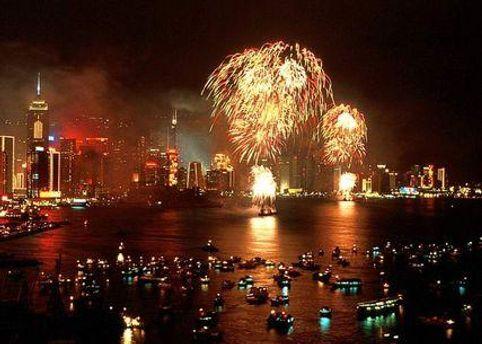 Новогодний праздник прошел по всей планете