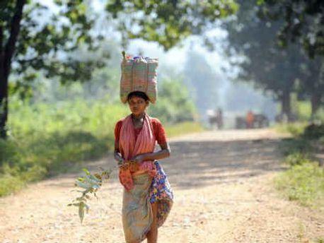Жительница штата Чхаттисгарх