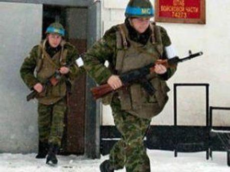 Российские миротворцы в Приднестровье