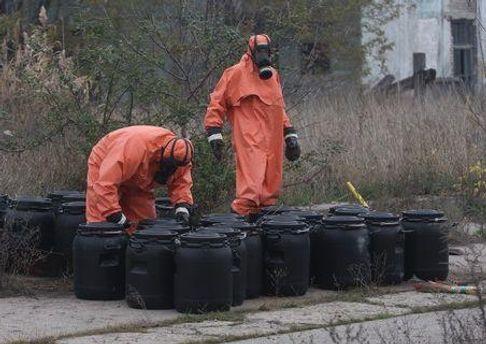 Утилизация отходов в Горловском химическом заводе