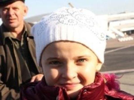 11-летняя Татьяна Мьялык