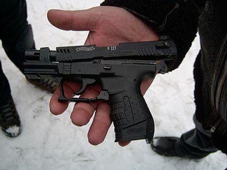 Во время драки водитель выхватил оружие