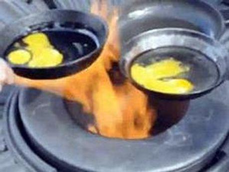 Суд визнав приготування яєчні наругою над могилою
