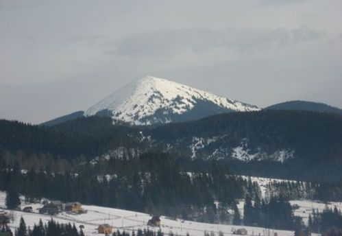 На високогір'ї Закарпаття існує небезпека сходження лавин
