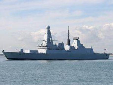 Новый HMS Daring