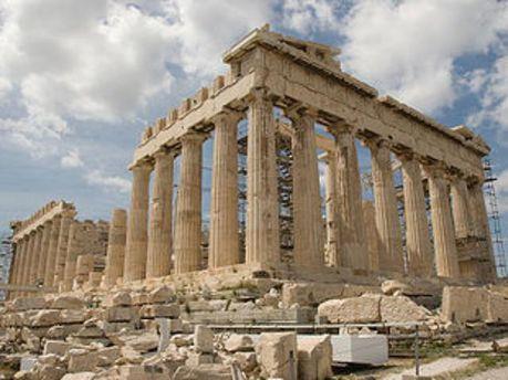 Афинский Акрополь не работает