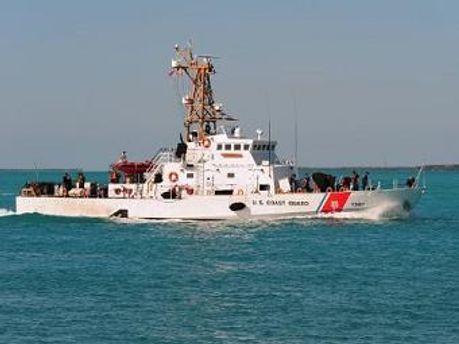 Катер береговой охраны США