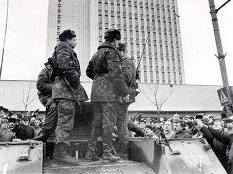 При штурме телецентра в Вильнюсе погибли 15 человек
