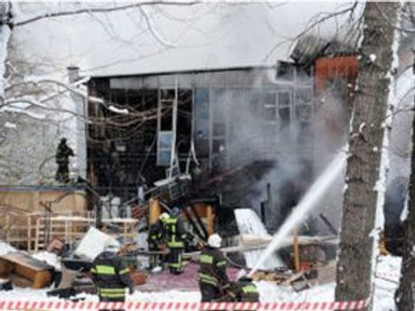 Ресторан после взрыва