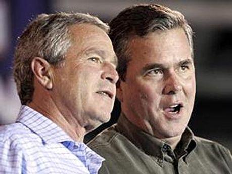 Джордж і Джеб Буш