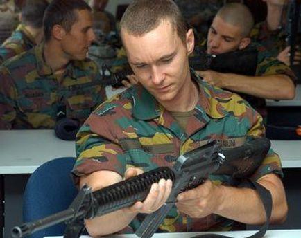 Бельгійський солдат