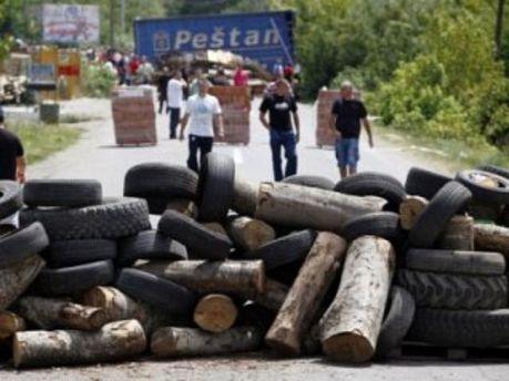 Албанские радикалы требовали не пропускать сербские товары в Косово