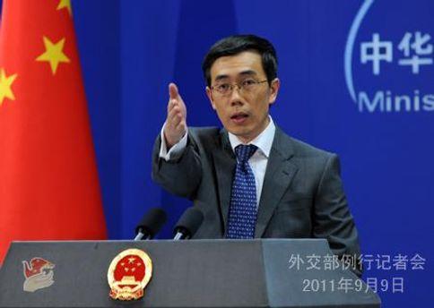 Лю Веймінь висловив протест Китаю
