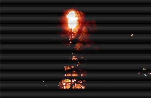 Причиной пожара стало неосторожное обращение с огнем
