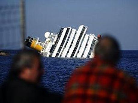 Costa Concordia затонула в суботу