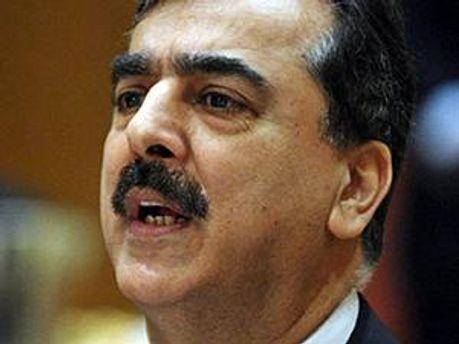 Прем'єр-міністр Пакистану Юсуф Раза Гілані