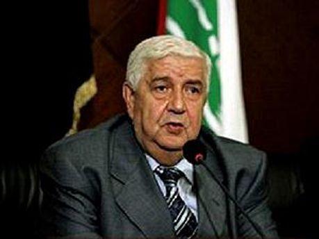 Міністр закордонних справ Сирії Валід аль-Муалем