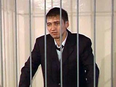 Роман Ландик в зале суда