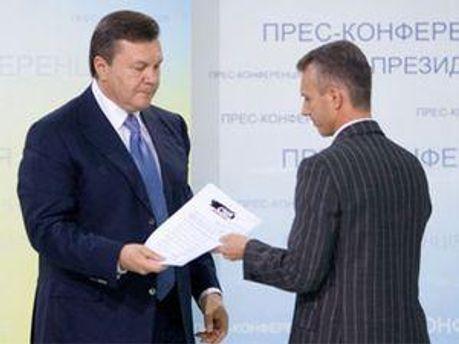 Виктор Янукович и Валерий Хорошковский