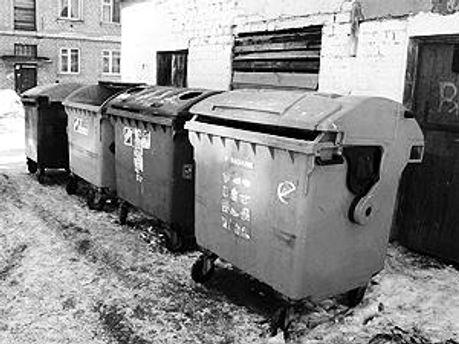 Труп нашли в мусорнике